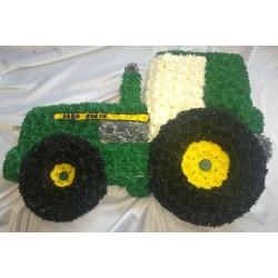 Floral Tractor