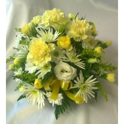 Yellow gift posy