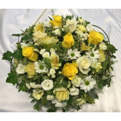 Yellow Funeral Posy